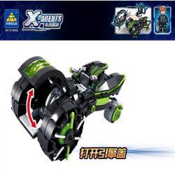 Kazi KY6602 6602 Xếp hình kiểu Lego X AGENTS X-Agents Future Police Speed chase Rượt đuổi Tốc độ 359 khối
