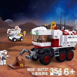 SLUBAN M38-B0737 B0737 0737 M38B0737 38-B0737 Xếp hình kiểu Lego SPACE Explore Mars Detecting Vehicle Sao Hỏa Phát Hiện Phương Tiện 354 khối