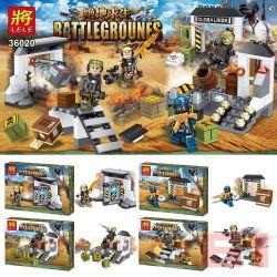 LELE 36020 36020-1 36020-2 36020-3 36020-4 Xếp hình kiểu Lego PUBG BATTLEGROUNDS Barrlegrounes Jedi Survived People Small Scene 4 Models Các Cảnh Mini Của PlayerUnknown's Battlegrounds 4 gồm 4 hộp nhỏ