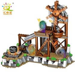 LELE 33204 Xếp hình kiểu Lego MINECRAFT MY WORLD Windmill Scene Cối Xay Gió 337 khối