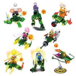 Sheng Yuan 1236 SY1236 (NOT Lego Dragon Ball Super Dragonball ) Xếp hình Rồng Thần Hồi Sinh gồm 8 hộp nhỏ 332 khối