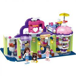 GUDI 9605 Xếp hình kiểu Lego MODERN GIRLS Modern Girls:Maria's Cafe quán Cà phê nhỏ của Maria 333 khối