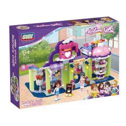 GUDI 9605 Xếp hình kiểu Lego MODERN GIRLS Modern Girls Maria's Cafe Maria's Cake Coffee House Quán Cà Phê Nhỏ Của Maria 333 khối