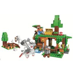 Bela 11138 Lari 11138 Xếp hình kiểu Lego MINECRAFT Scenes Cảnh 327 khối
