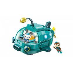 Enlighten 3703 (NOT Lego Octonauts Lantern Fish Boat ) Xếp hình Tàu Ngầm Hình Đèn Lồng 323 khối