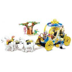Winner 5013 (NOT Lego Disney Princess Wedding Carriage ) Xếp hình Cỗ Xe Ngựa Kéo 329 khối