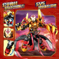 SEMBO 11810 Xếp hình kiểu Lego KING OF GLORY HEGEMONY Blood-blooded Cao Cao Robot Cao Cao 324 khối