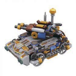 Winner 8041 Xếp hình kiểu Lego THE AGE OF STEAM SteamAge The Steam Tank Steampunk Era Xe Tăng Hơi Nước 314 khối