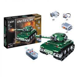 Doublee Cada C51018 C51018W (NOT Lego Creator Tiger Heavy Tank ) Xếp hình Xe Tăng Tiger Hạng Nặng 313 khối