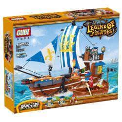 GUDI 9114 Xếp hình kiểu Lego PIRATES OF THE CARIBBEAN Legend Of Pirates:Royal Warship Vasa Chiến hạm hoàng gia 312 khối