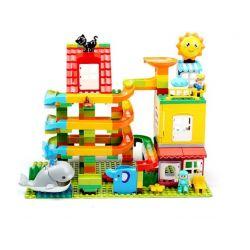 FEELO 1648 Xếp hình kiểu Lego Duplo DUPLO Large Grain Tube Holder To The Sea ống hạt lớn chủ để biển cả 242 khối
