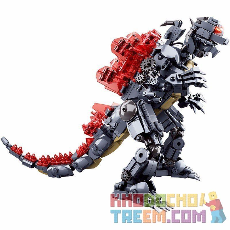 SLUBAN M38-B0783 B0783 0783 M38B0783 38-B0783 Xếp hình kiểu Lego GODZILLA Godzilla King Of The Monsters Costla 2 Monster King Casel Vua Quái Vật Godzilla 697 khối