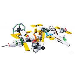 SLUBAN M38-B0731 B0731 0731 M38B0731 38-B0731 Xếp hình kiểu Lego Space Explore Star 8 Combinations Tàu Không Gian Kết Hợp Bởi Máy Bay 510 khối