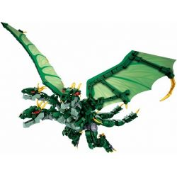 Sluban M38-B0785 (NOT Lego King Ghidorah King Ghidorah ) Xếp hình Rồng Chúa Ghidorah 672 khối