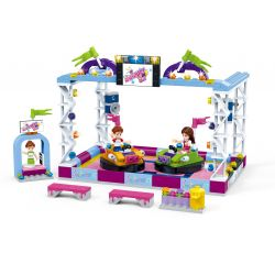 GUDI 9611 Xếp hình kiểu Lego MODERN GIRLS Modern Girls Bumper Car Trò Chơi Xe điện 312 khối