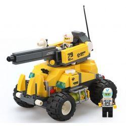 WANGE 3668 Xếp hình kiểu Lego ADVANCED MILITARY Advanced Military Rhino Heavy Tank Relentless Rhino Tank Xe Tăng Rhinoceros 322 khối