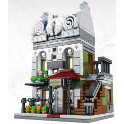 SEMBO SD6300 6300 Xếp hình kiểu Lego MINI MODULAR Paris Restaurant Nhà Hàng Paris 343 khối