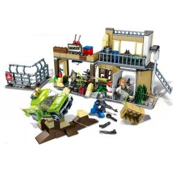 SHENG YUAN SY 1117 Xếp hình kiểu Lego BATTLE ROYALE Jedi Survival Maintenance Garage Sửa Chữa Gara 329 khối