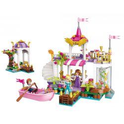 Englighten 2607 (NOT Lego Disney Princess Princess Dream Wonderland Lake Garden Party ) Xếp hình Giấc Mơ Công Chúa Về Bữa Tiệc Bên Vườn Hồ Wonderland 358 khối