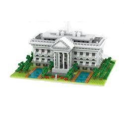 Yz 062 Nanoblock Architecture The White House Xếp hình Xếp Hình Nhà Trắng 2021 khối