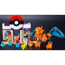 LELE 39005 Xếp hình kiểu Lego POKÉMON Pokemon GO Pokemon Pet Hospital Bệnh Viện Thú Cưng 309 khối
