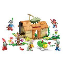SHENG YUAN SY 1237 1237-1 1237-2 1237-3 1237-4 1237-5 1237-6 1237-7 1237-8 Xếp hình kiểu Lego PLANTS VS ZOMBIES Plants Vs. Zombies House Small Scene 8 8 Cảnh Nhỏ Nhỏ gồm 8 hộp nhỏ 307 khối