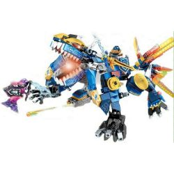 Sheng Yuan 915 SY915 (NOT Lego Nexo Knights Cray's Thunderstorm ) Xếp hình Rồng Sấm Sét Của Cray 462 khối