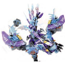 SHENG YUAN SY SY914 Xếp hình kiểu Lego NEXO KNIGHTS Nick Knights Stone Like Warcraft Đại Bàng Mechanical 454 khối