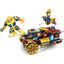SHENG YUAN SY 7014 Xếp hình kiểu Lego MARVEL SUPER HEROES Iron Man Battle War 431 khối