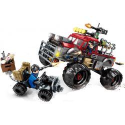 SHENG YUAN SY SY1342 1342 Xếp hình kiểu Lego GAME FOR PEACE Peaceful Elite Giant Round Off-road Vehicle Desert Armed Warfare Chiến đấu Sa Mạc Có Vũ Trang 408 khối