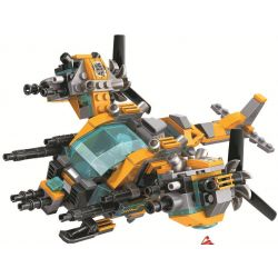 Winner 5060 (NOT Lego Crocodile Special Forces Magic Crocodile Special Team ) Xếp hình Cá Sấu Tấn Công 391 khối