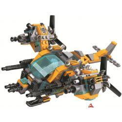 Winner 5060 Xếp hình kiểu Lego SWAT SPECIAL FORCE Crocodile Special Forces Magic Crocodile 5060 Cá Sấu Tấn Công 391 khối