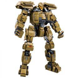 SLUBAN M38-B0726C B0726C 0726C M38B0726C 38-B0726C Xếp hình kiểu Lego Pacific Rim Bracer Phoenix Pacific Rim Phoenix Tourist Người Máy Khổng Lồ 482 khối