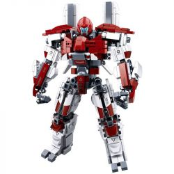 Sluban M38-B0726D (NOT Lego Pacific Rim Guarfian Bravo ) Xếp hình Người Máy Khổng Lồ 512 khối