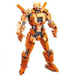 SLUBAN M38-B0726B B0726B 0726B M38B0726B 38-B0726B Xếp hình kiểu Lego Pacific Rim Saber Athena Pacific Rim Army Knife Athena Người Máy Khổng Lồ 377 khối
