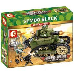 SEMBO 101269 Xếp hình kiểu Lego EMPIRES OF STEEL Empires Of Steel xe tăng chiến đấu 368 khối