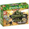 Sembo 101269 (NOT Lego Empires of steel Empires Of Steel ) Xếp hình Xe Tăng Chiến Đấu 368 khối