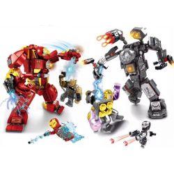 SHENG YUAN SY 125 125A 1325 SY125 SY125A 125A SY1325 1325 SY1325A 1325A SY1325B 1325B Xếp hình kiểu Lego SUPER HEROES Gears Of War Vs. Thanos And Iron Man Vs. Black Dwarf 2 Gears of War vs Thanos, Iro