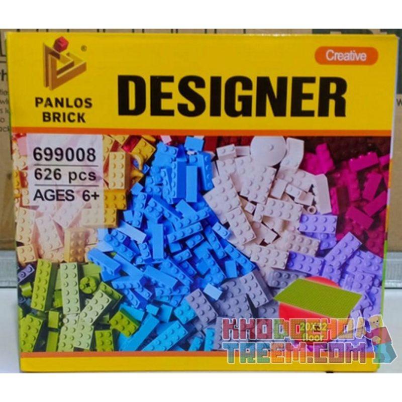 PanlosBrick 699008 Panlos Brick 699008 Xếp hình kiểu Lego CREATOR Creator Bộ lắp ráp khối 625 khối