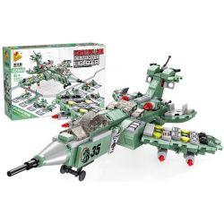 Panlosbrick 633017 (NOT Lego Ultraman Destroyer Fighter 12 In 1 ) Xếp hình Máy Bay Chiến Đấu 12 Trong 1 576 khối