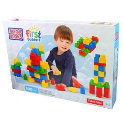 Mega Bloks Mega Bloks CXP09 Builders 100-Count. Block Set Xếp hình 100 khối