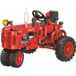 Winner 7070 (NOT Lego Technic Classical Tractor ) Xếp hình Máy Kéo Cổ Điển 302 khối