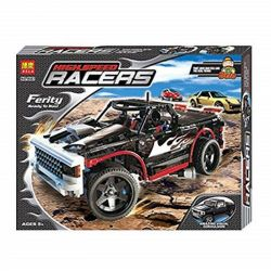 Bela 9602 Lari 9602 Xếp hình kiểu Lego RACERS Nitro Intimidator Neon Pickup Xe đua Nitro 724 khối