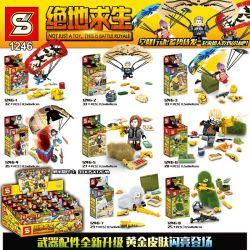 SHENG YUAN SY 1246 Xếp hình kiểu Lego COLLECTABLE MINIFIGURES Jedi Survival Airborne Action Person 8 8 Cảnh Nhỏ 236 khối