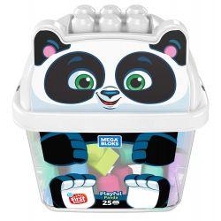 Mega bloks Mega Bloks GCT46 Playful Panda, Multicolor Xếp hình Xếp Hình Gấu Trúc Vui Vẻ Nhiều Màu 25 khối