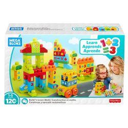 Mega Bloks Mega Bloks FMT40 Build Learn Math Building Set Xếp hình Xếp Hình Khối Xây Dựng Tìm Hiểu Toán Học 120 khối