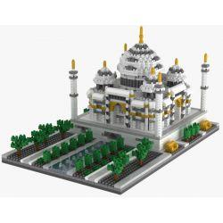 Yz 068 Nanoblock Architecture Taj Mahal Xếp hình Đền Taj Mahal 2159 khối