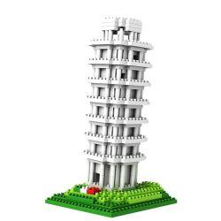Loz 9367 Nanoblock Architecture The Leaning Tower Of Pisa Xếp hình Tháp Nghiêng Pisa 560 khối