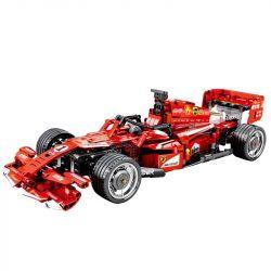 SEMBO 701000 Xếp hình kiểu Lego TECHNIC Ferrari FRR-F1 Equata Racing Xe đua Công Thức 1 585 khối điều khiển từ xa