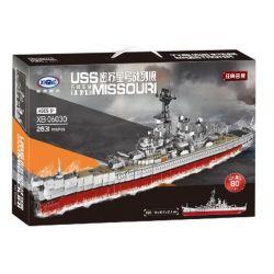 XINGBAO XB-06030 06030 XB06030 Xếp hình kiểu Lego MILITARY ARMY Warship USS Missouri Missouri Warship Tàu Chiến 2631 khối